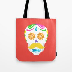 Mouscacho Skull 2 Tote Bag