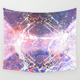 Abstract Ripple Reflection Wall Tapestry