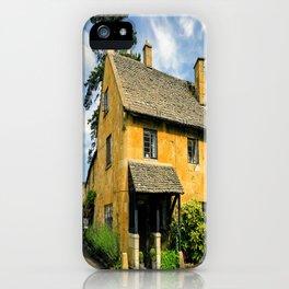 Corner Cottage iPhone Case