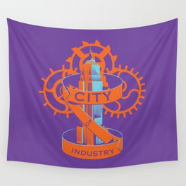 City Of Industry  Wall Tapestry