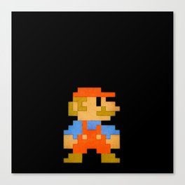NES Mario REDUX Canvas Print