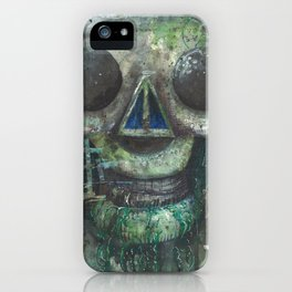 Slime Skull iPhone Case