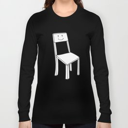 chair boy Long Sleeve T-shirt
