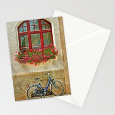 Bike At The Window Stationery Cards