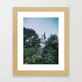 Sappi Mill, Westbrook, ME Framed Art Print