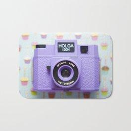 Happy Holga Bath Mat