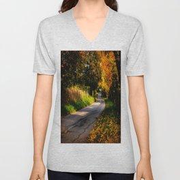 Autumn Dreams. Unisex V-Neck