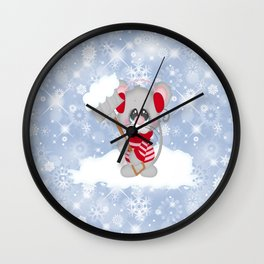 Time To Shovel Wall Clock