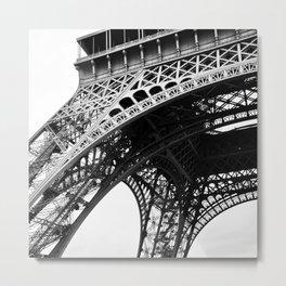 le symbole de Paris Metal Print