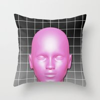 giants Throw Pillows featuring GIANTS by ESIB