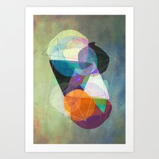 Graphic 117 Z Art Print