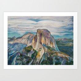 #27-Half Dome, Yosemite Art Print