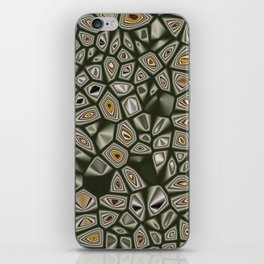 Abstract CMR 03 on VB iPhone Skin