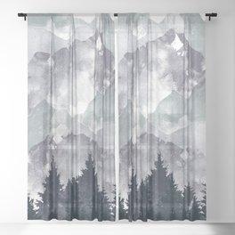 Winter Tale Sheer Curtain