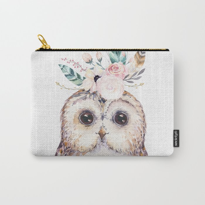 Forest Owl by Nature Magick Carry-All Pouch