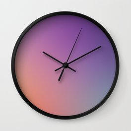 GUILTY  CONSCIENCE - Minimal Plain Soft Mood Color Blend Prints Wall Clock