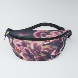 hydrangea - deep purple Fanny Pack
