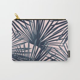 Tropical Fan Palm Leaves #4 #tropical #decor #art #society6 Carry-All Pouch