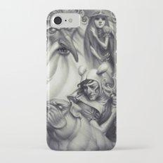 Another Castle :: Duotone Print iPhone 7 Slim Case