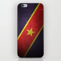flag iPhone & iPod Skins featuring Flag by Steven Overturf