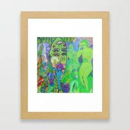 BIKE RIDE 2 Framed Art Print