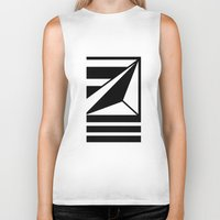 prism Biker Tanks featuring Prism by MANYOUFACTURE