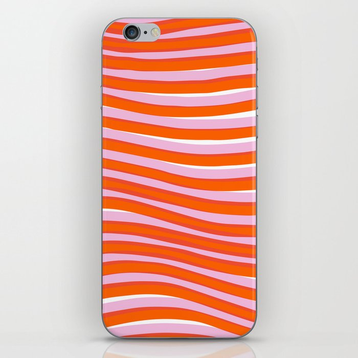 electric zebra stripes iPhone Skin