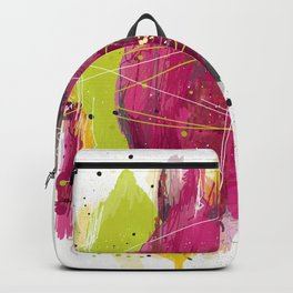 """Abstract """"Fougue"""" Backpack"""