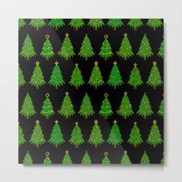 Christmas Tree Festival Metal Print
