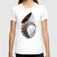 shells T-shirts featuring Shells by Jan4insight
