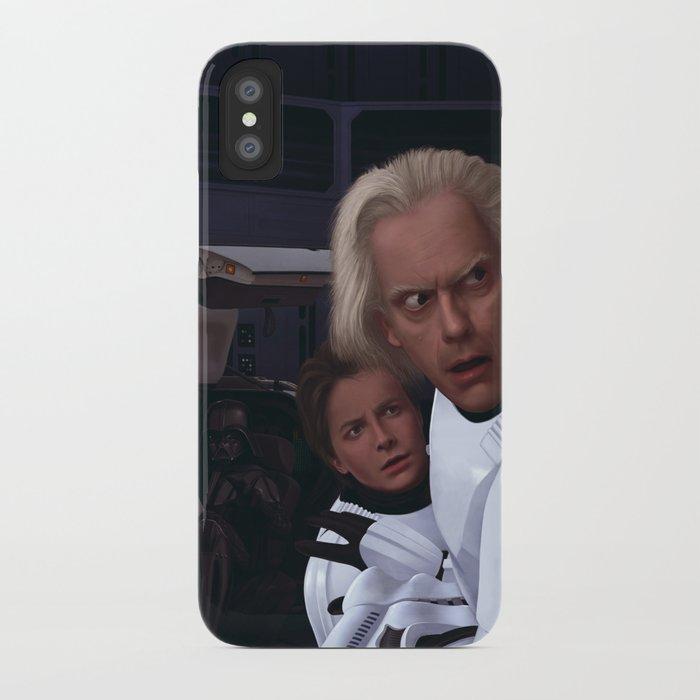 I Find Your Lack Of Jiggawatts Disturbing iPhone Case