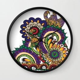 Hello 70s! Corally Wall Clock