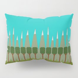 Leafgroove Mountains Pillow Sham