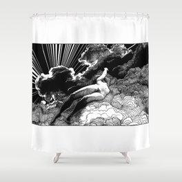asc 615 - La volupté des formes (The voluptuousness of painting) Shower Curtain