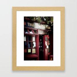 ... temple bar ... Framed Art Print