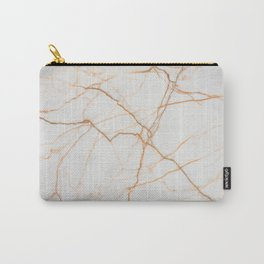 Gold marble Carry-All Pouch