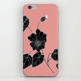 Desert Lantern - Abutilon leucopetalum iPhone Skin