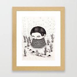 Auspicious Encounter Framed Art Print