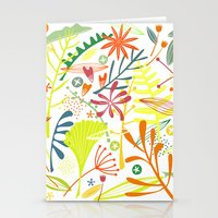 tropical Stationery Cards featuring Tropical by Nic Squirrell