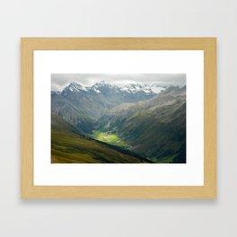 Davos, Switzerland Framed Art Print