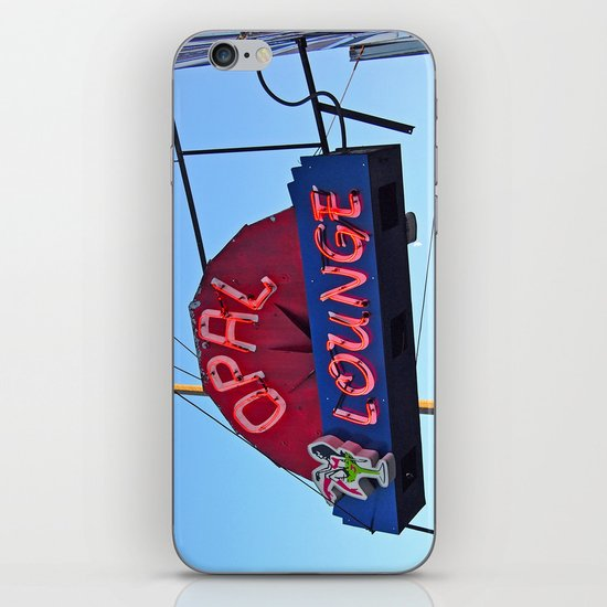 Historic neon iPhone & iPod Skin