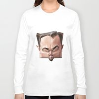 leonardo dicaprio Long Sleeve T-shirts featuring Leonardo Dicaprio by Alexander Novoseltsev