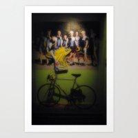 tour de france Art Prints featuring tour de france by Emanuele Reina
