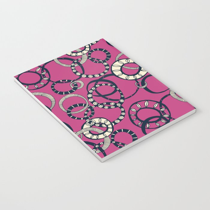 Honolulu hoopla pink Notebook