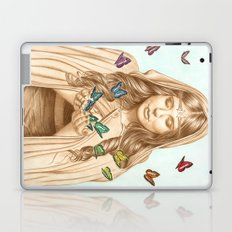 The Butterfly Girl Laptop & iPad Skin