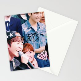 Seungkwan Collage Stationery Cards