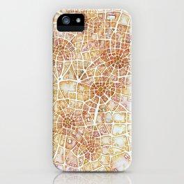 Antique Plans (Cityspace #181) iPhone Case