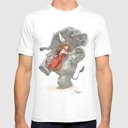 Elephant Hug T-shirt