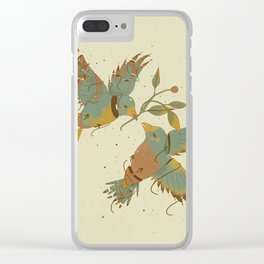 OISEAUX Clear iPhone Case