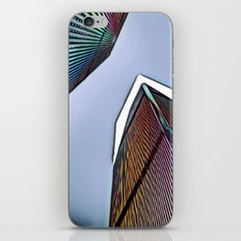Twin Towers - 9/07/01 - Graphic 4 iPhone Skin